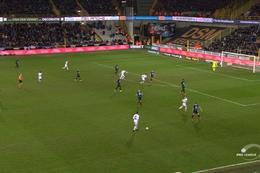 Goal: FC Bruges 2 - 1 Cercle Bruges 90', Hazard