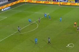 Penalty: La Gantoise 1 - 4 Charleroi 89', Rezaei