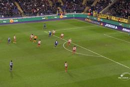 Goal: Anderlecht 7 - 0 SV Zulte Waregem 86' Chadli