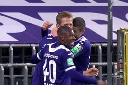 Résumé Anderlecht - SV Zulte Waregem
