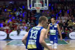 MVP Okapi Aalstaar - Liège Basket / Riley LaChance