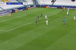 Goal: Juventus Turin 2 - 1 Lyon 60' Ronaldo