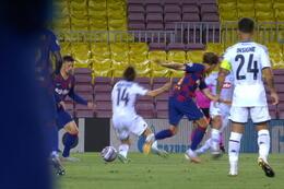 Goal: FC Barcelone 3 - 1 Naples 45' Insigne