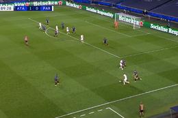 Goal: Atalanta Bergamo 1 - 1 Paris SG 90' Marquinhos