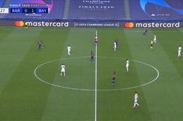 Own Goal: FC Barcelona 1 - 1 Bayern München 7' Alaba