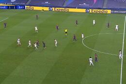 Goal: FC Barcelone 1 - 2 Bayern Munich 21' Perisic
