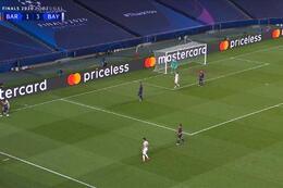 Goal: FC Barcelona 1 - 4 Bayern München 31' Muller