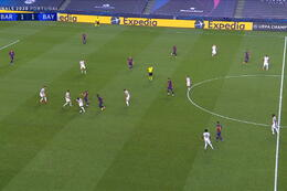 Goal: FC Barcelona 1 - 2 Bayern München 21' Perisic