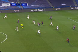 Goal: FC Barcelona 2 - 7 Bayern München 85' Coutinho