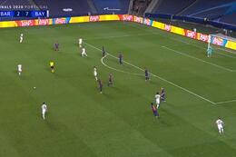Goal: FC Barcelone 2 - 8 Bayern Munich 87' Coutinho