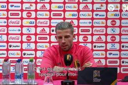 """Alderweireld: """"100 matchs pour les Diables"""""""