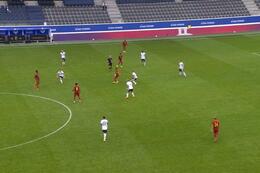 Goal: Belgique (-21) 2 - 1 Allemagne (-21)