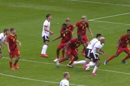 Goal: Belgique (-21)1 - 1 Allemagne (-21)