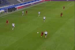 Goal: Belgique (-21) 1 - 0 Allemagne (-21)