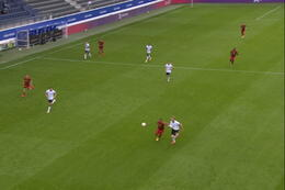 Goal: België (U21) 1 - 0 Duitsland (U21)