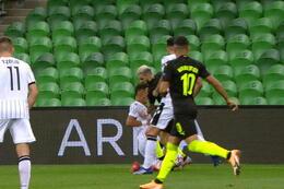 Penalty: Krasnodar 1 - 1 PAOK Salonique 39' Claesson