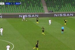 Goal: Krasnodar 0 - 1 PAOK Saloniki 33' Pelkas