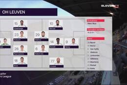 Speeldag 5 OH Leuven - Standard (1-0)
