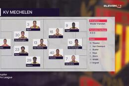 Speeldag 5 KV Mechelen - KV Oostende (0-1)