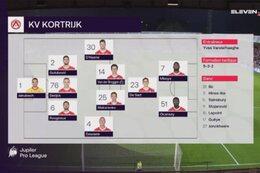 Speeldag 5 KV Kortrijk - Moeskroen (3-0)