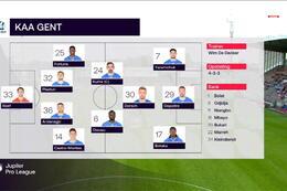 Speeldag 6 Moeskroen - KAA Gent (0-1)
