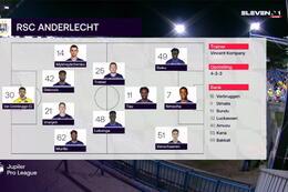 Journée 6 W-Beveren - Anderlecht (2-4)