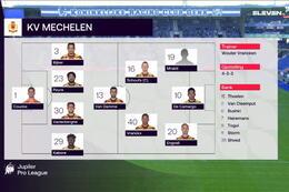 Speeldag 6 KRC Genk - KV Mechelen (3-1)