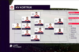 Speeldag 6 Standard - KV Kortrijk (2-1)