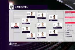 Speeldag 6 Royal Antwerp - Eupen (2-2)