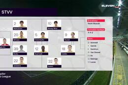 Speeldag 6 Cercle Brugge - STVV (3-0)