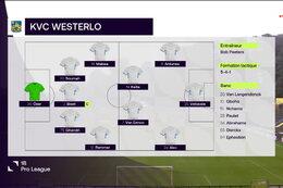 Speeldag 2 Union St Gilloise - KVC Westerlo (0-0)