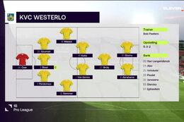 Journée 3 RFC Seraing - KVC Westerlo (0-2)