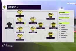 Speeldag 3 Lommel SK - Lierse K. (3-2)