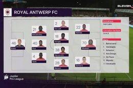 Speeldag 7 KV Kortrijk - Royal Antwerp (1-3)