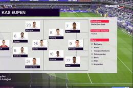 Speeldag 7 RSC Anderlecht - Eupen (1-1)