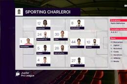 Speeldag 7 Moeskroen - Sporting Charleroi (1-1)