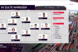 Speeldag 7 Standard - SV Zulte Waregem (2-2)