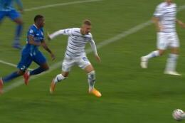 Penalty: Dynamo Kiev 3 - 0 La Gantoise 49', Rodrigues