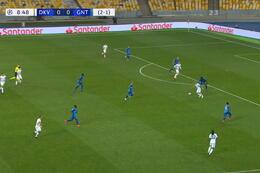 Goal: Dynamo Kiev 1 - 0 La Gantoise 10', Buyalskyy