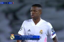 Goal: Real Madrid 2 - 3 Sjachtar Donetsk 59' Vinícius Júnior