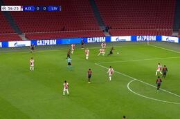 Own Goal: AFC Ajax 0 - 1 Liverpool 35' Tagliafico