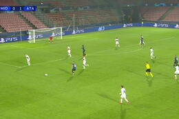 Goal: Midtjylland 0 - 2 Atalanta Bergamo 36' Gómez