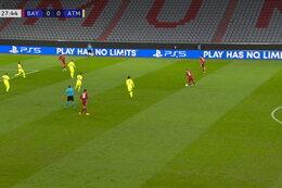 Goal: Bayern München 1 - 0 Atlético Madrid 28' Coman