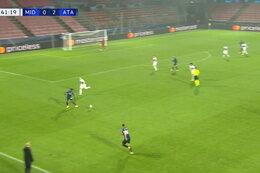 Goal: Midtjylland 0 - 3 Atalanta Bergamo 42' Muriel