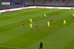 Goal: Bayern München 2 - 0 Atlético Madrid 41' Goretzka