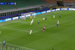 Goal:  Inter Milaan 1 - 0 Borussia M'Gladbach 49' Lukaku