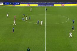 Goal:  Inter Milaan 1 - 2 Borussia M'Gladbach 84' Hofmann