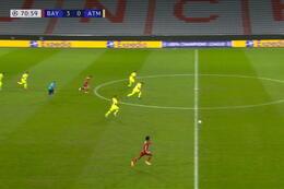 Goal: Bayern München 4 - 0 Atlético Madrid 72' Coman
