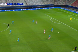 Goal: Olympiakos Piraeus 1 - 0 Marseille 90'+1 Ahmed Hassan