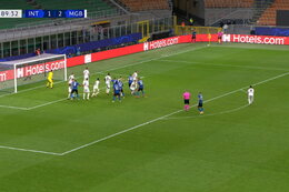 Goal:  Inter Milaan 2 - 2 Borussia M'Gladbach 90' Lukaku